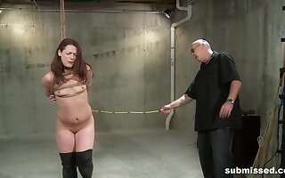 Busy passion for a slim redhead in scenes of Busy deference