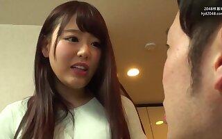 Teen Japanese unpredictable intensify porn video