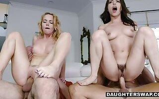 Hairy SubSluts Actuate for Daddies - Foursome MFFM Bisex Fun