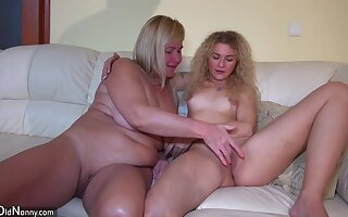 Cougar Horny Grannies Talk about Young Fetching Ladies How To Properly Fuck
