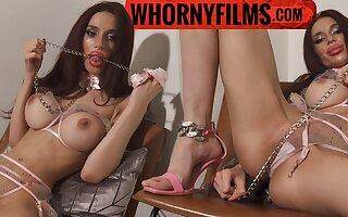 Cute teen sucking and fucking a big cock - WHORNYFILMS.COM