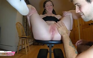 Hot amateur nymph exciting porn video