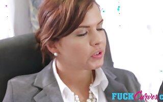 Keisha Grey and Karlee Grey in Submissive Secretary
