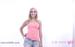 Pretty Blond Teenager Gets Facial & Shagged Handy POINT-OF-VIEW Chuck