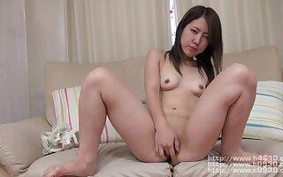 Bush-league Asian Minority Hot Pussy Rubbing