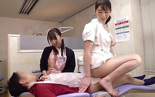 asian kinky nurses trine sex